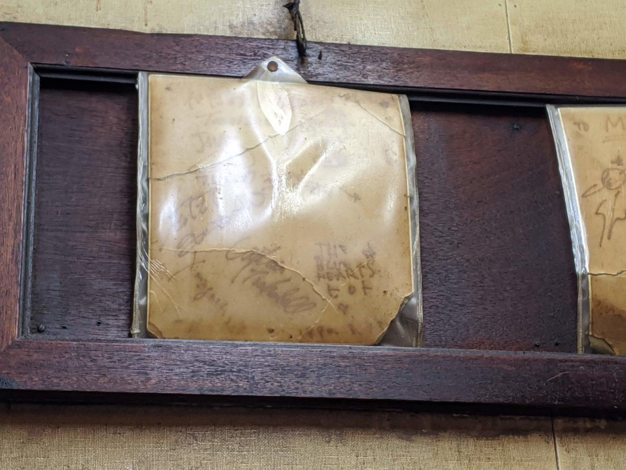 甲本ヒロトのサイン
